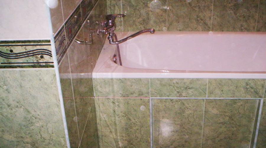 Vorbereitung Der Trockenmauer Unter Der Fliese Im Badezimmer - Unterschied zwischen kacheln und fliesen