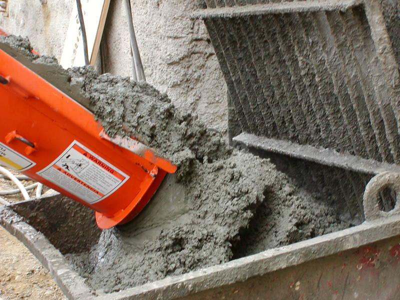 Вес высохшего бетона устройство покрытий на цементном растворе из плиток